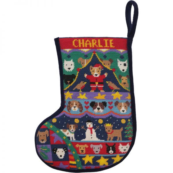 Puppies-Christmas-Stocking-Velvet-600×600